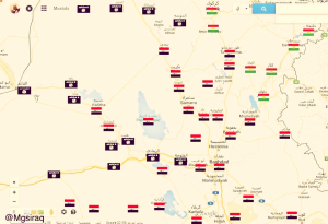 Daesh Locations