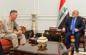 PM Abadi and General Dunford