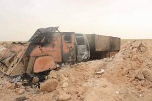 Daesh Vehicle Destroyed in Thirthar