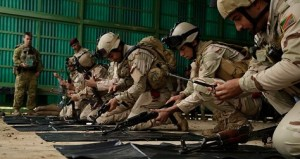 Iraqi Troops Trained by the Coalition