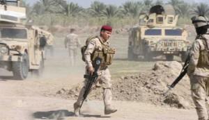 Iraqi Troops in Mahana Village