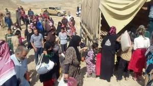 Dispalced People in Makhmur