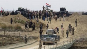 Iraqi Forces in Ameriyat Al-Falluja