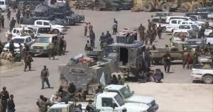 Iraqi Forces in Falluja District