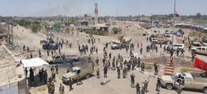 Iraqi Forces in Qarma