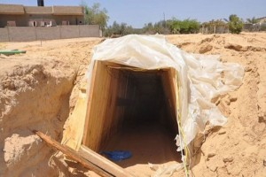 A Daesh Tunnel in Saqlawiya