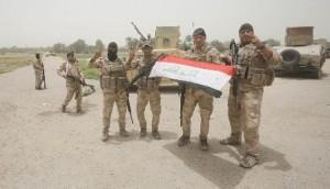Iraqi troops in Falluja
