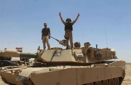Iraqi Soldiers in Qayara (Sumaria)