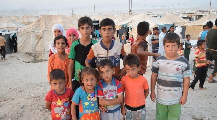 Displaced Children in Anbar (BasNews)