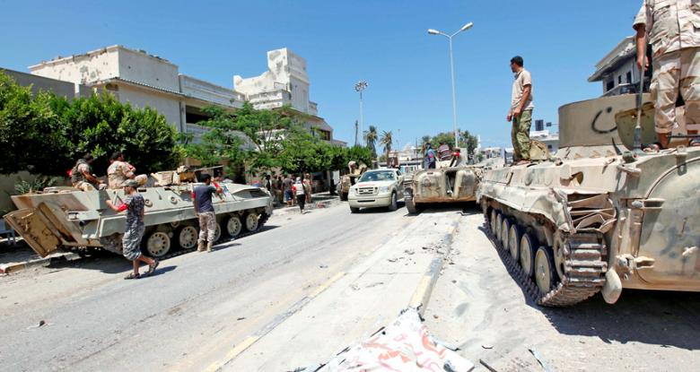 Libyan Troops in Sirte (AfriGate)