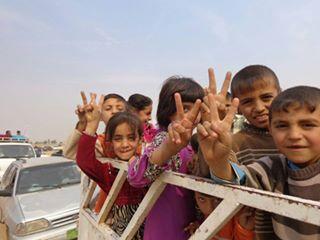 Displaced Children from Ninewa (Yalla)