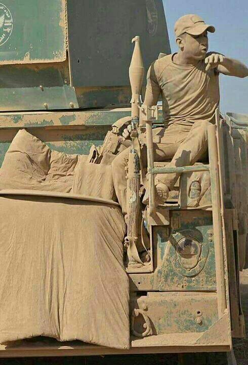 Iraqi Soldier in the Shura Area (DaeshDaily)