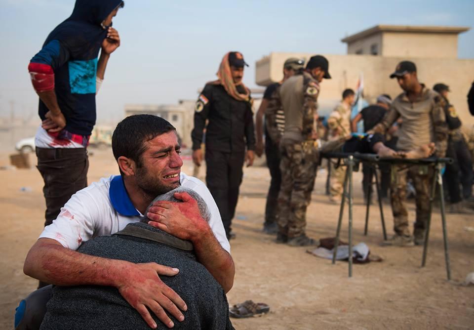 People Shelled By Daesh (Odd Andersen)