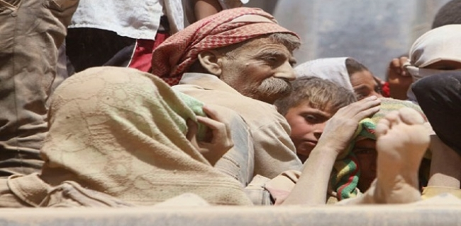 Yazidi Displaced People (BasNews)